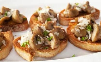Mushroom Bruschetta | Veggies, Salads, etc,recipes | Pinterest