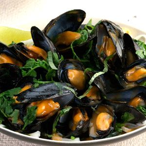 Thai Red Curry Mussels-Seafood Recipes-Thai Recipes - Delish