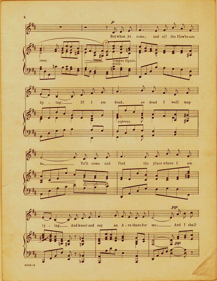 Music sheet printable | ℳanualidades | Pinterest