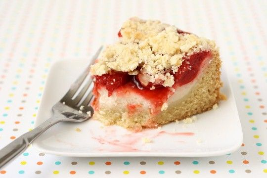 Cherry Cream Cheese Coffee Cake | Vegan food | Pinterest