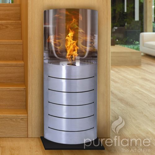 Ethanol Indoor Outdoor Fireplace Vent Free Stainless Steel