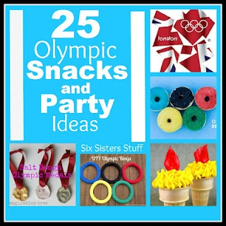 The Perfect Olympic Snacks and Party Ideas from www.sixsistersstuff.com #Olympics #Snacks