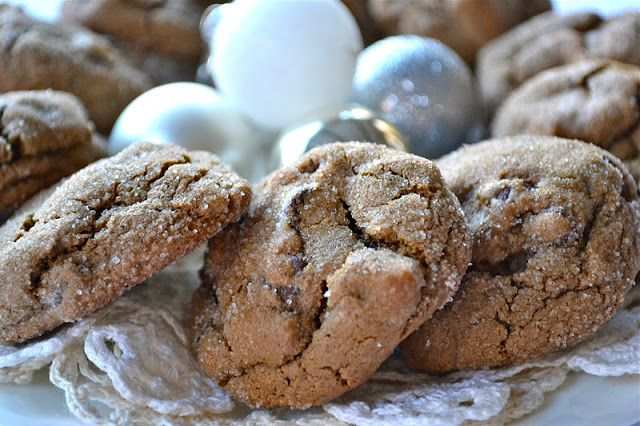 Chocolate Gingerbread Cookies (Soft & chewy gingerbread cookie filled ...