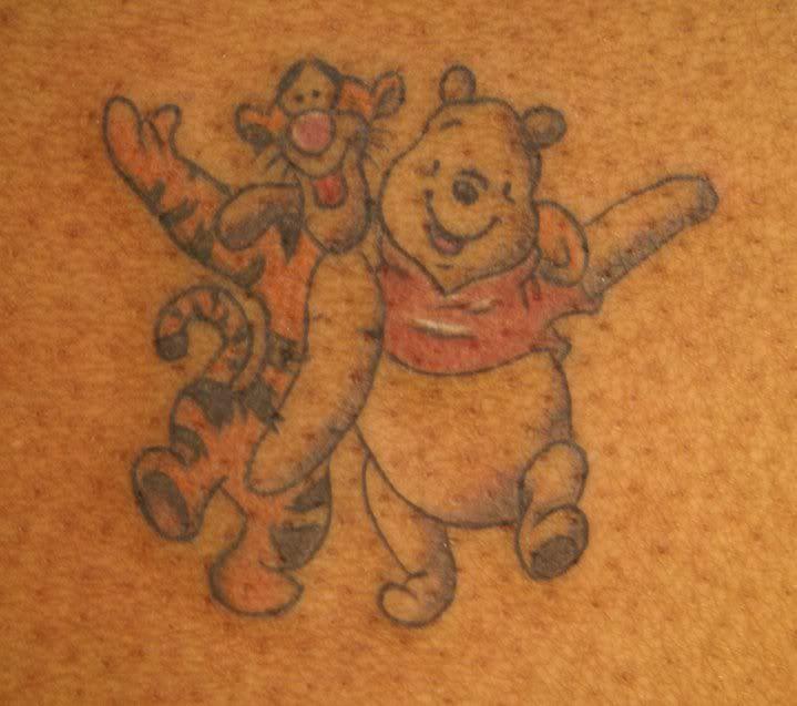 tigger and pooh tattoos