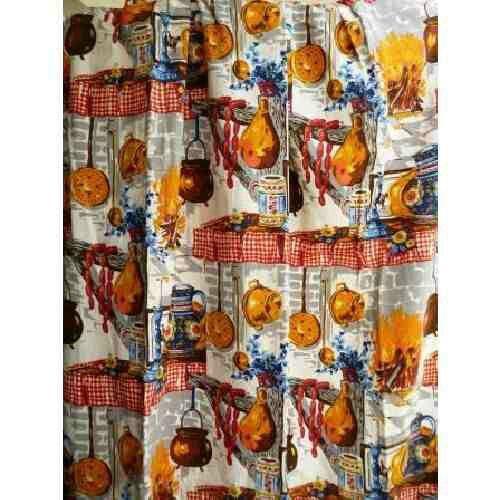 Vintage kitchen curtains. | Memories | Pinterest