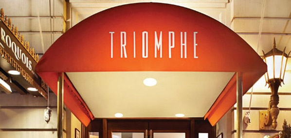 the best restaurant in midtown manhattan 39 s theater district triomphe