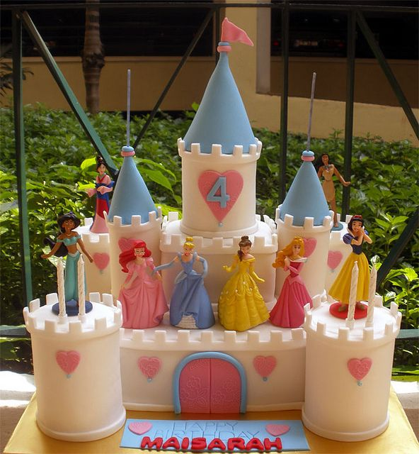 Disney Castle Cake Maisarah | Flickr - Photo Sharing!