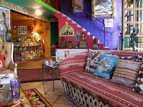 Mexican inspired living room mexican inspired home decor for Hippie living room ideas