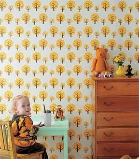 Cute kids room wallpaper