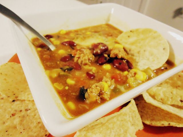 Foodie & Fabulous: Turkey Chili Taco Soup...and More Real Life