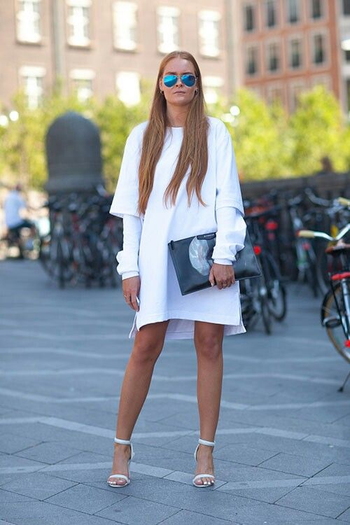 Total white at KG Street Style