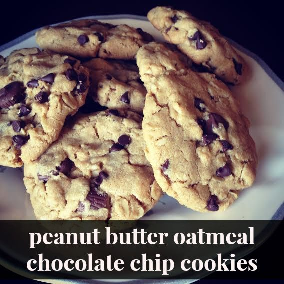 Reeses-Stuffed Peanut Butter Chocolate Chip Cookies Recipe ...