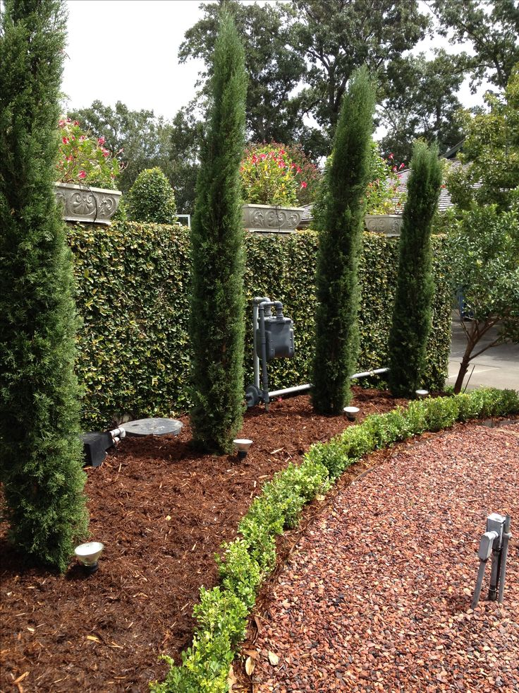 Feel Tuscan Style Backyard Landscaping Dot