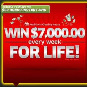 PCH 5000 a Week for Life