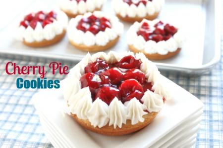 Cherry Pie Cookies-Easy Recipe-Created by Diane
