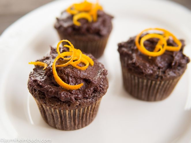 Sorghum Cupcakes With Orange Whiskey Whipped Cream - Wild ...