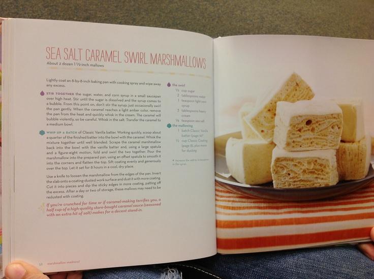 Sea Salt Caramel Swirl Marshmallows | {Desserts} Marshiemallows | Pin ...