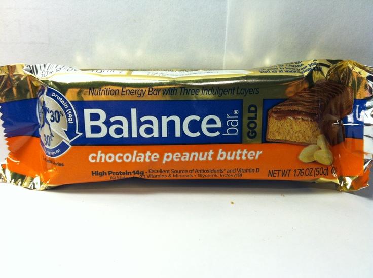 Crazy Food Dude Review: Balance Bar Gold Chocolate Peanut Butter Bar