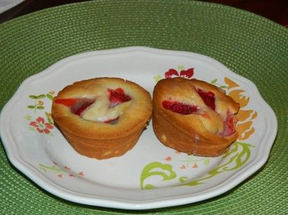 Strawberry Cream Cheese Muffins With Sweet Berry Drizzle | Tasty ...