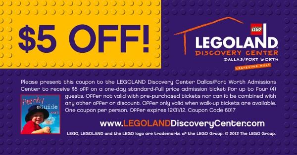 Legoland coupons texas