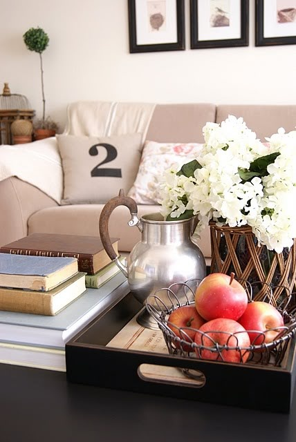 Coffee Table Staging Pinterest