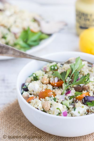 Quinoa With Chickpeas And Tomatoes Recipe — Dishmaps