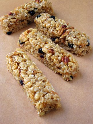 Blueberry & Pecan Chewy Granola Bars | Food and Recipes | Pinterest