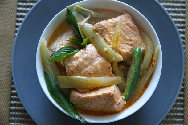 Salmon-Fennel Red Curry | Food & Recipes | Pinterest