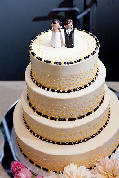 Fun NYC Wedding Cake Joyful Cakes Pinterest