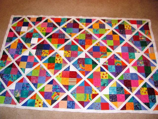 How to Create a Disappearing Nine Patch Block