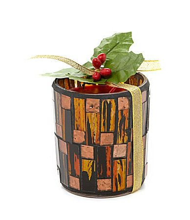Aromatique the smell of christmas mosaic candle dillards