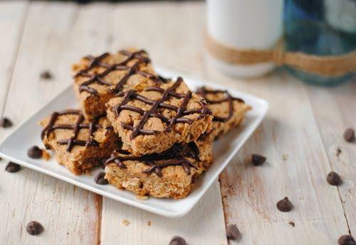 Peanut butter breakfast bars | Food & Drink | Pinterest