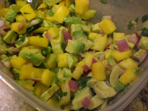 ... • Tilapia Tacos with Mango-Pineapple Salsa and Cilantro-Lime Cream