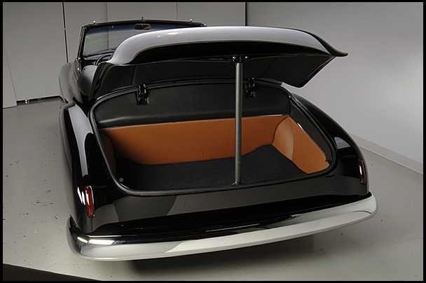 F91 1949 Chevrolet Convertible 350 CI Automatic Photo 7