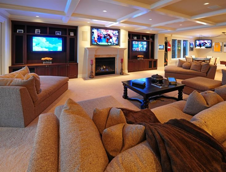 Man Cave Furniture Layout : Man caves game room cave pinterest