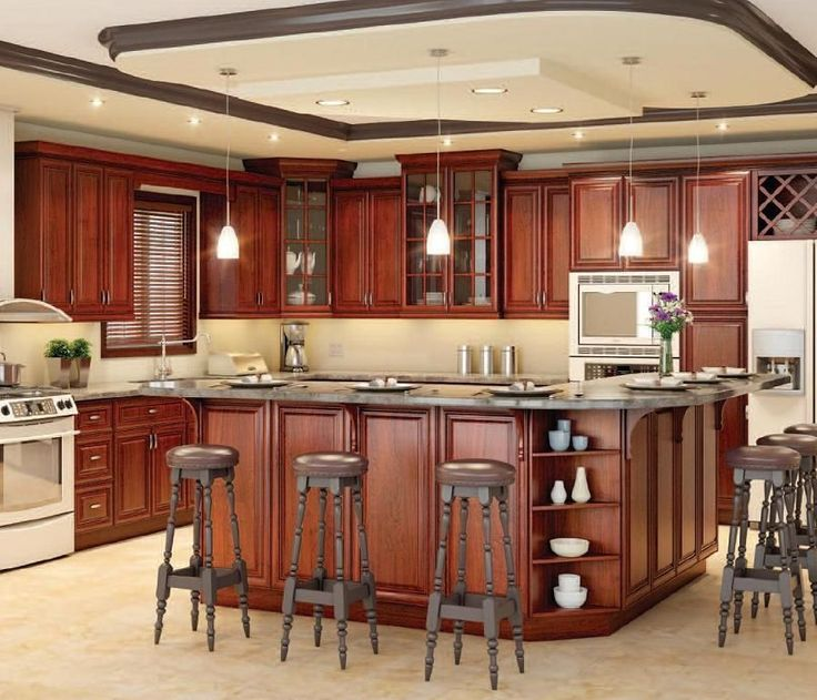 Kitchen cabinets raised panel cabinet doors alder face for Boxed kitchen cabinets