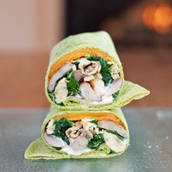 spinach and egg scrambled egg wrap | breakfast and anytime | Pinterest