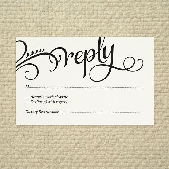 Pinterest discover and save creative ideas for Free rsvp template