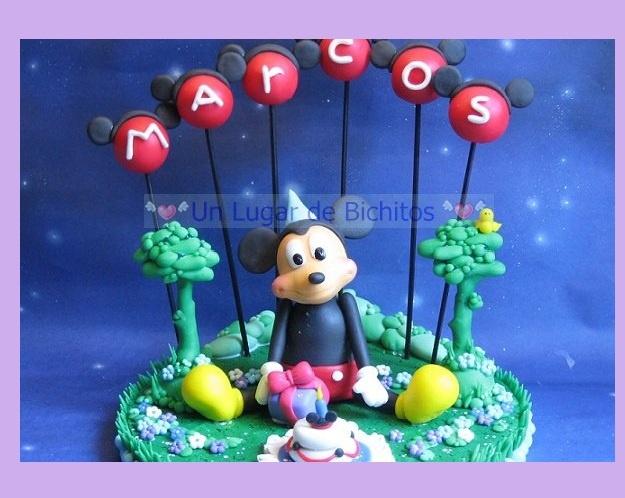 Decoración de Torta de Mickey Mouse