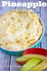 beats pro cheap Pineapple Pudding Dip  Food