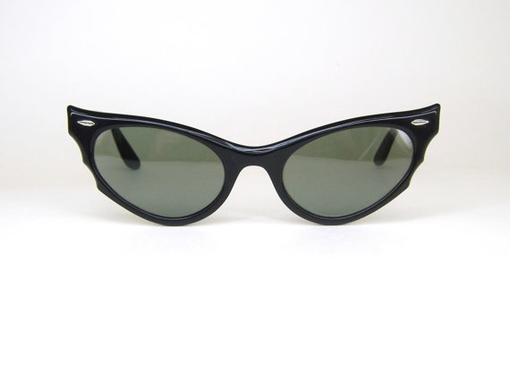 Vintage 50s Ray Ban Cat Eye Sunglasses Frames BL Excellent ...