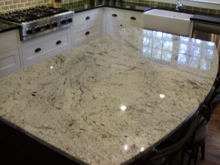 river white granite cabinets and countertops