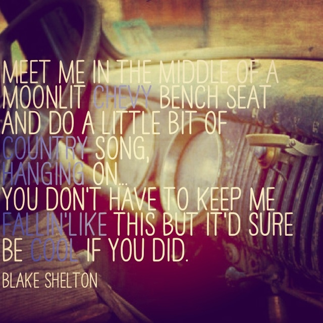 cute country love song quotes the