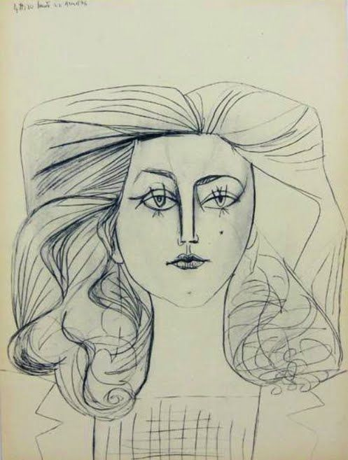 Drawing Lines In Muse : Pin by juliet barrett on picasso s women pinterest