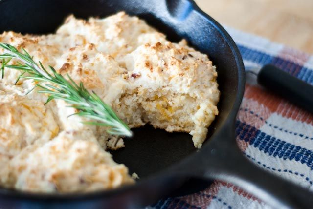 Bacon cheddar drop biscuits | yummies (salty) | Pinterest