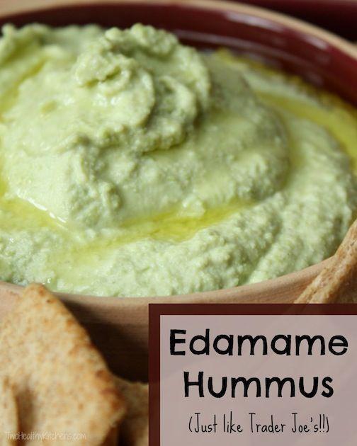 Edamame Hummus | Recipe