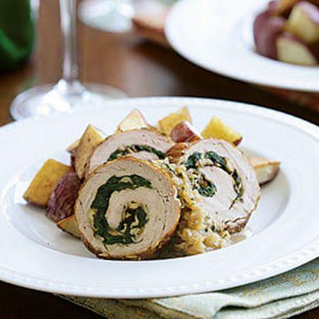 Spinach Prosciutto And Mozzarella Stuffed Pork Tenderloin Recipes ...