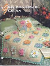 RARE~Grandma's Flower Garden Afghan Crochet Pattern~Annie's Quilt & Afghan Club - Afghan Patterns