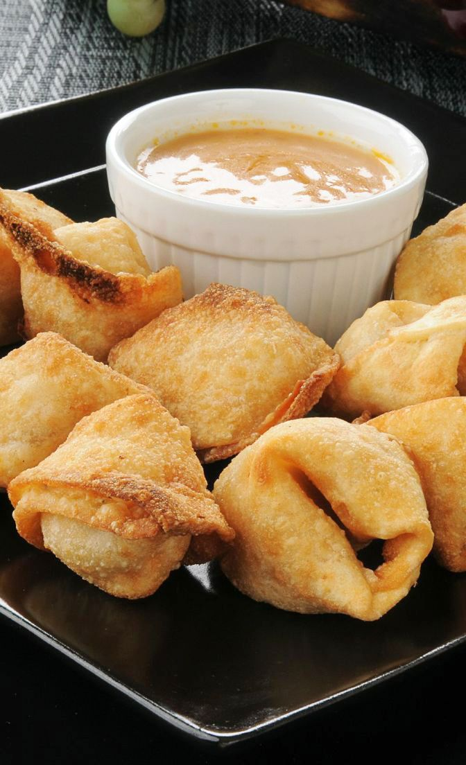 Crab Rangoon Recipe | Recipes | Pinterest