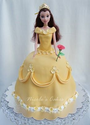 I think I'm going to make a Belle cake for Starling's 2nd birthday, but better than this one haha! Any leftover batter will be cupcakes with red roses.
